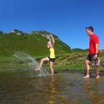 Abkühlung im Paarsee
