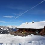 Saukaralm (1.850 m) im Großarltal, im Winter geöffnet Mi, Do, Fr, So - jeweils nur bei Schönwetter