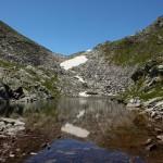 Der Blick in die Gegenrichtung - zur Schöderscharte 2.333 m