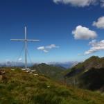 Blick vom Schöderhorn auf Nebelkareck, Klingspitz, Tennen- und Hagengebirge, ...