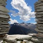 Blick aus dem Fenster zum Keeskogel, 2.884 m