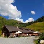 Die Bichlhütte - die obere der beiden Kreealmen ist erreicht
