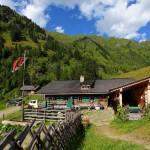 Die Kreehütte - die untere der beiden Kreealmen
