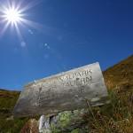 Gleich nach dem Murtörl beginnt die Außenzone des Nationalparks Hohe Tauern