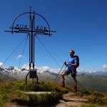 Mein nächstes Ziel ist erreicht: Das Mureck, 2.402 m