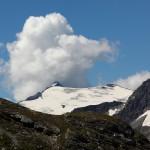Der Ankogel (3.252 m) trägt eine Wolkenhaube