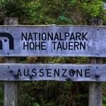 Eingang zum Nationalpark Hohe Tauern