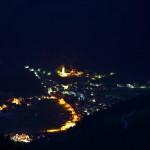 In Großarl herrscht noch Nachtruhe - aufgenommen vom Wetterkreuz