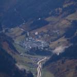 ... und auf das Bergsteigerdorf Hüttschlag