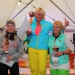 "Siegerinnen Gruppe ""blond"" 1. Christine Römersberger (Gesamtsiegerin), 2. Julia Römersberger, 3. Tina Gottstein"
