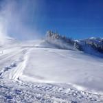 Naturschnee und Kunstschnee, einer kommt ohne den anderen nicht richtig aus - Foto: Engelbert Gschwandtl/Bergbahnen