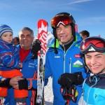 Armin mit Familie Hettegger, Hotel Edelweiß