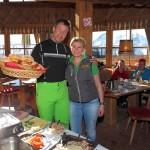 Armin Assinger mit Elisabeth von der Laireiteralm