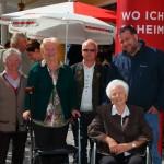Die Bewohner des Senioren-Wohnheimes