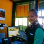Dienst an der Sommerkassa der Panoramabahn Großarltal
