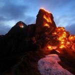 Magie von Licht, Feuer und Berg