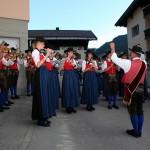 Die Trachtenmusikkapelle Großarl sorgte für die musikalische Umrahmung