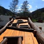 Herzstück des Bergwerk-Kletterturmes