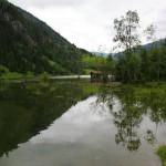 An der Ötzlbrücke - Blick talauswärts 2