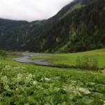 Blick vom alten Seegut in den Talschluss