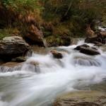 Im Talschluss unterhalb vom Kreealm-Wasserfall