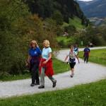 Der Radweg von Hüttschlag nach Großarl wurde zur WM-Strecke