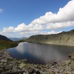 Pfringersee (Arlsee) unterhalb der Arlscharte