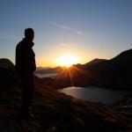 Sonnenaufgang am oberen Schwarzsee
