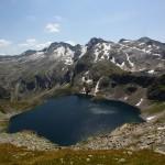 Der untere Schwarzsee mit dem Weinschnabel