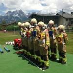 Bewerbsgruppe der Feuerwehr Großarl