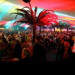Partyband Frontal feierte mit uns eine tolle Party