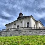 Wolfgang Innerlohinger: Kirche Großarl, Anfang Kapellenweg